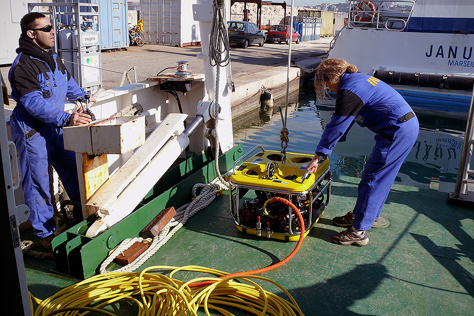 Ocean Modules Commercial Diving and ROV Services