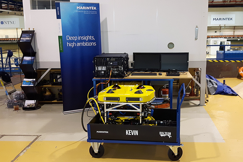 V8 M500 ROV delivered to Marinetek